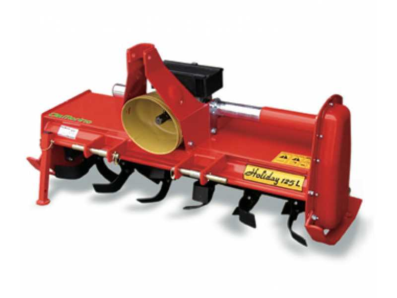 Роторный культиватор для минитрактора
